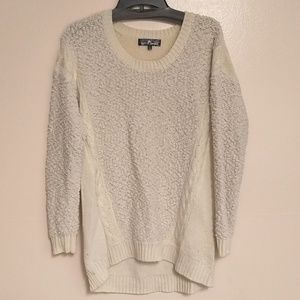 Charlotte Russe over-sized ivory sweater